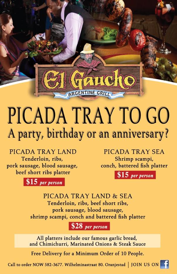 Picada Tray To Go